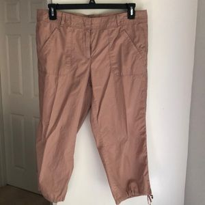 Cropped summer pants